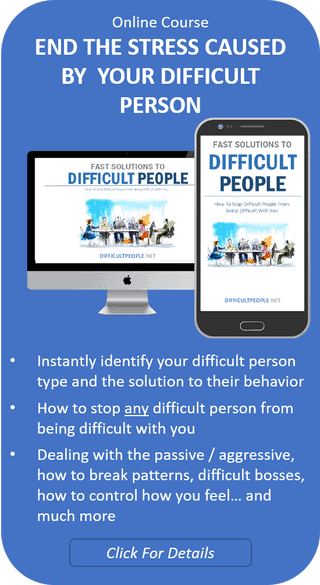 Dealing With DifficultPeople Course