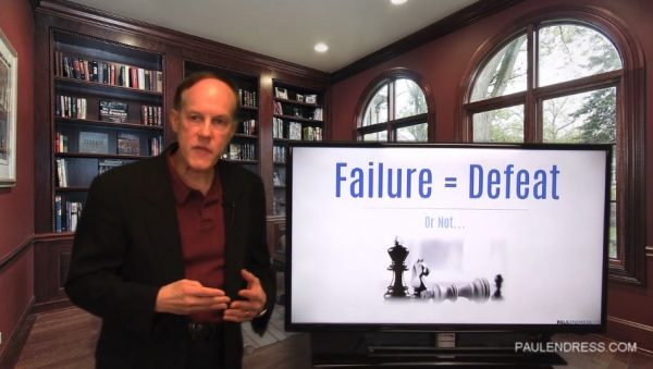Failure Doesn't Equal Defeat